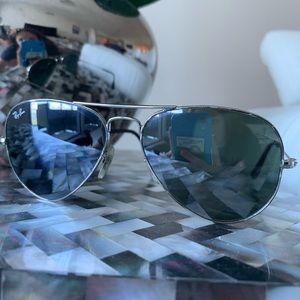 Rayban Aviator Black Sunglasses